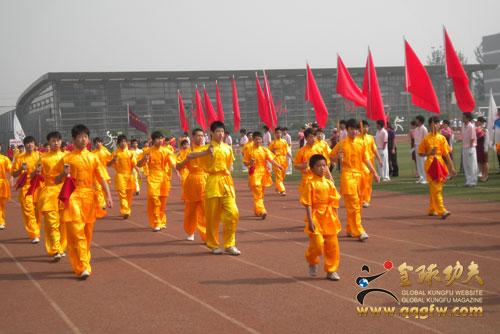 北京市职教系统校园体育节开幕