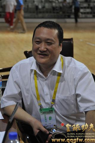总裁判长杨维博士畅谈淮南国际武术节