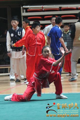 北京市 孙剑云杯 传统武术比赛开幕