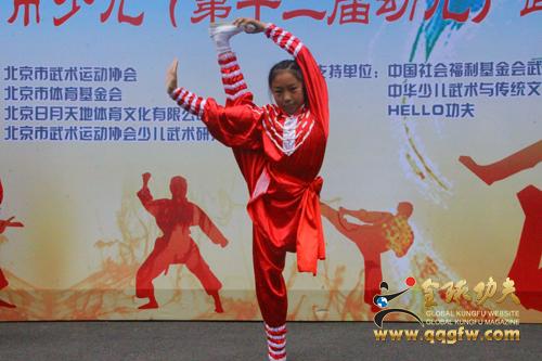 北京市第十二届少儿武术比赛圆满举行