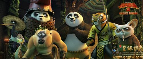 《功夫熊猫3》中国正式版海报