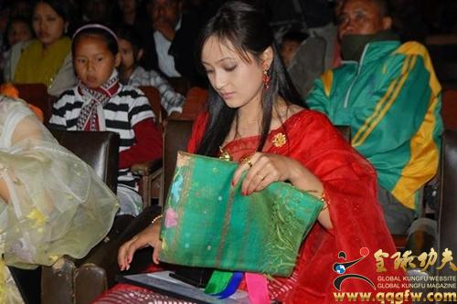 印度东北人,自称大唐后裔,喜欢中国武术和中国