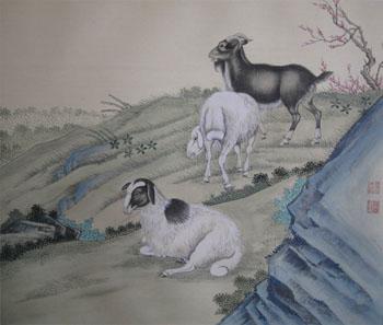 中国工笔画名家