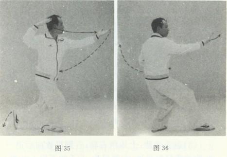 [转载]二十四式太极拳(李德印图,文讲解)图片